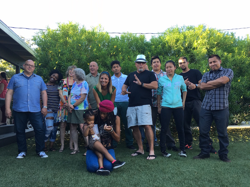WE LIFT LA Former Foster Youth Having Fun at Summer Barbecue