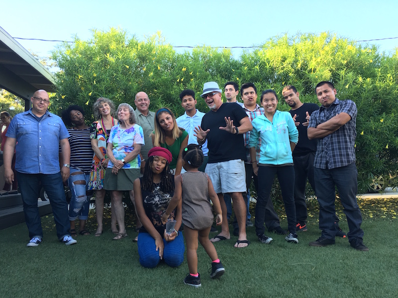 WE LIFT LA Former Foster Youth Having Fun at Summer Barbeque