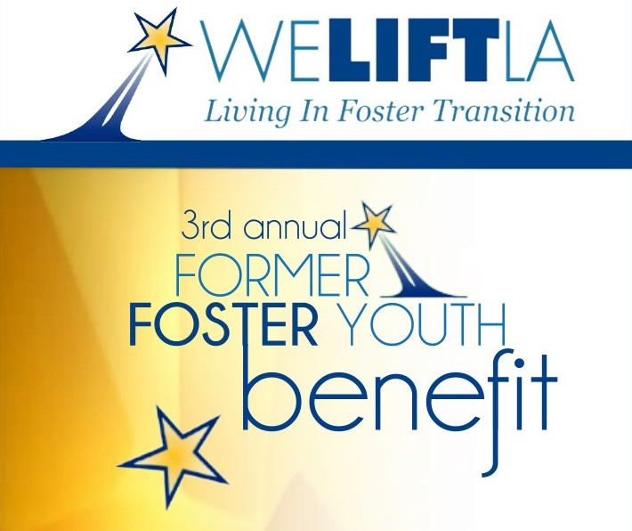 Save the Date for WE LIFT LA's 3rd Annual Former Foster Youth Benefit