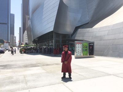 Mentors Congratulate Angel Alvarenga on his Graduation| We LIFT LA